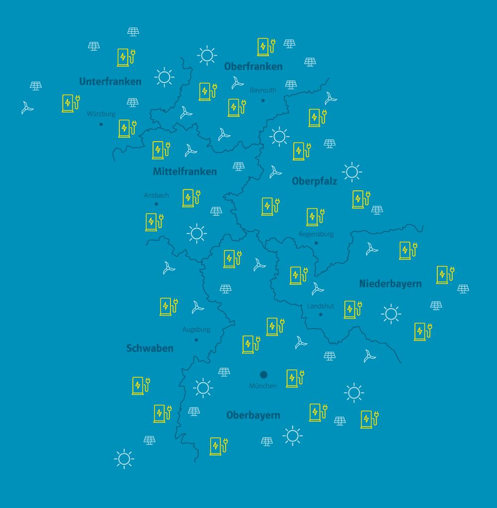 Bayernwerk gestaltet maßgeblich die Energiewende in Bayern